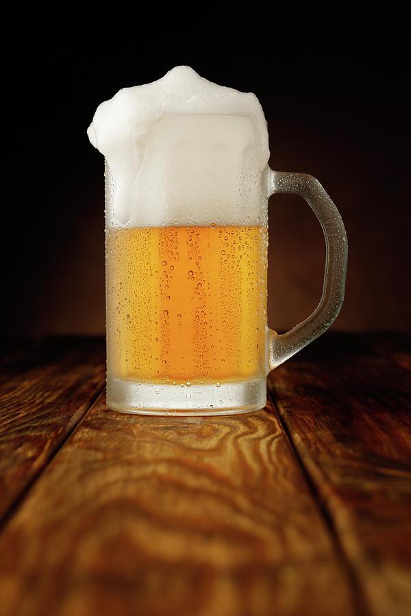 Mug Of Beer Photograph by Ultramarinfoto