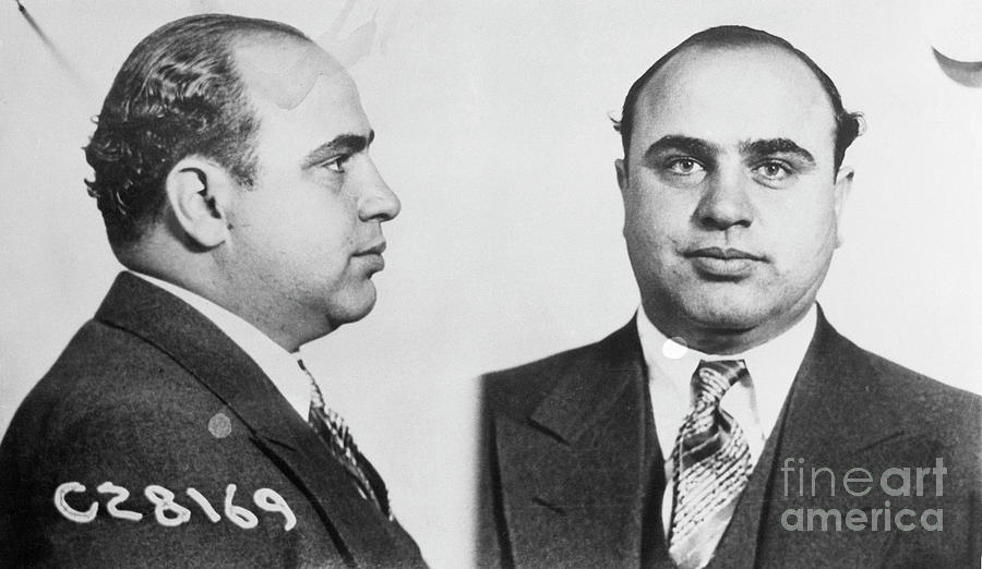 Mugshot Of Gangster Al Capone Photograph by Bettmann