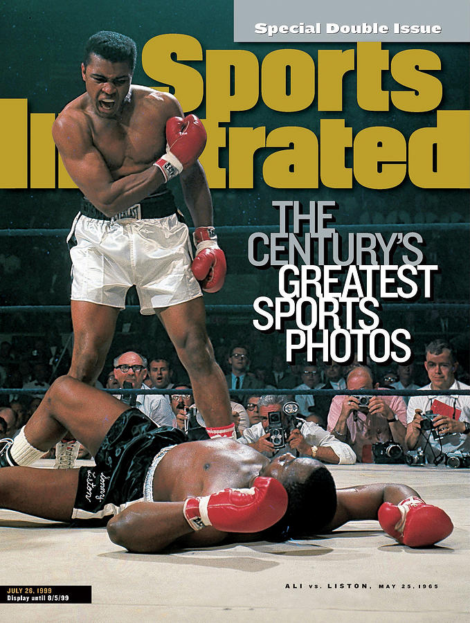 Muhammad Ali, 1965 World Heavyweight Title Sports Illustrated Cover Photograph by Sports Illustrated