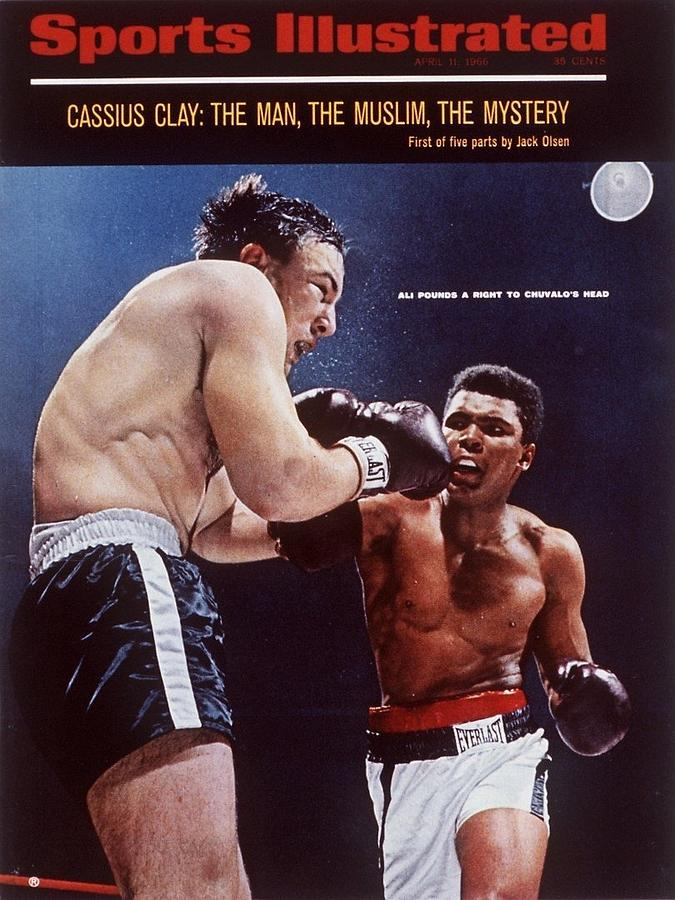 Muhammad Ali, 1966 World Heavyweight Title Sports Illustrated Cover Photograph by Sports Illustrated