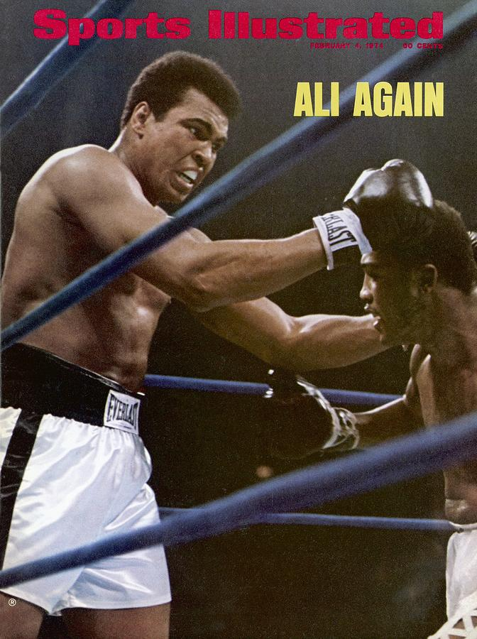 Muhammad Ali, 1974 Nabf Heavyweight Title Sports Illustrated Cover Photograph by Sports Illustrated