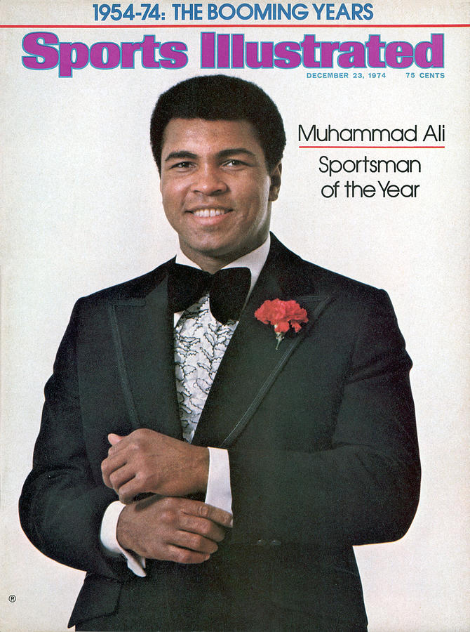 Muhammad Ali, 1974 Sportsman Of The Year Sports Illustrated Cover Photograph by Sports Illustrated