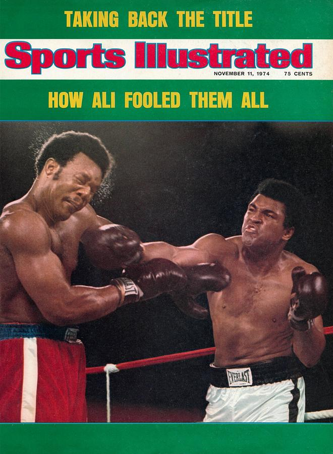 Muhammad Ali, 1974 Wbawbc Heavyweight Title Sports Illustrated Cover Photograph by Sports Illustrated