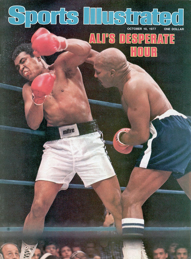 Muhammad Ali, 1977 Wbcwba Heavyweight Title Sports Illustrated Cover Photograph by Sports Illustrated