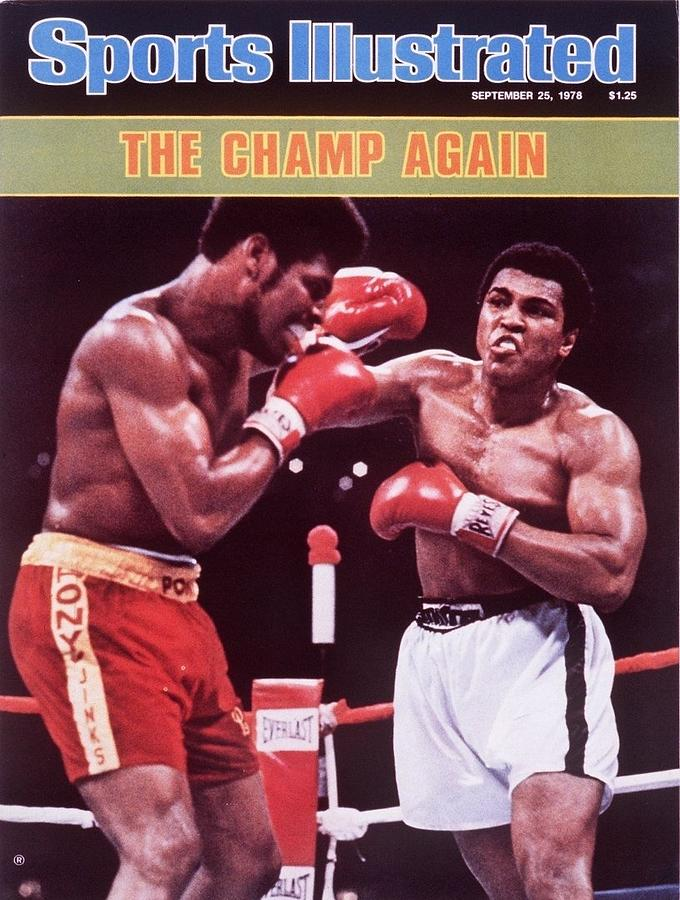 Muhammad Ali, 1978 Wba Heavyweight Title Sports Illustrated Cover Photograph by Sports Illustrated