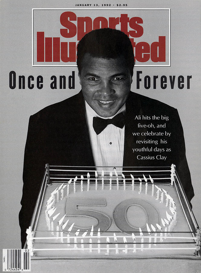 Muhammad Ali, 50th Birthday Celebration Sports Illustrated Cover Photograph by Sports Illustrated