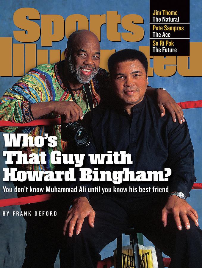 Muhammad Ali And Howard Bingham Sports Illustrated Cover Photograph by Sports Illustrated