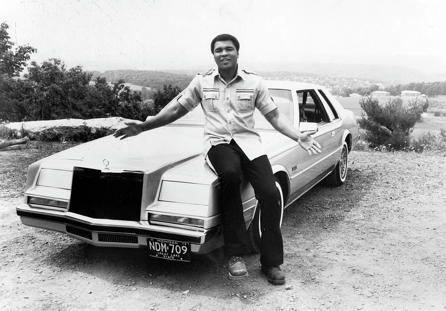 Muhammad Ali Car Photograph by Afro Newspaper/gado