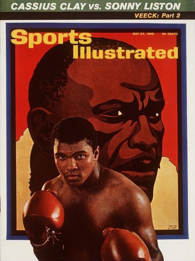 Muhammad Ali, Heavyweight Boxing Sports Illustrated Cover Photograph by Sports Illustrated
