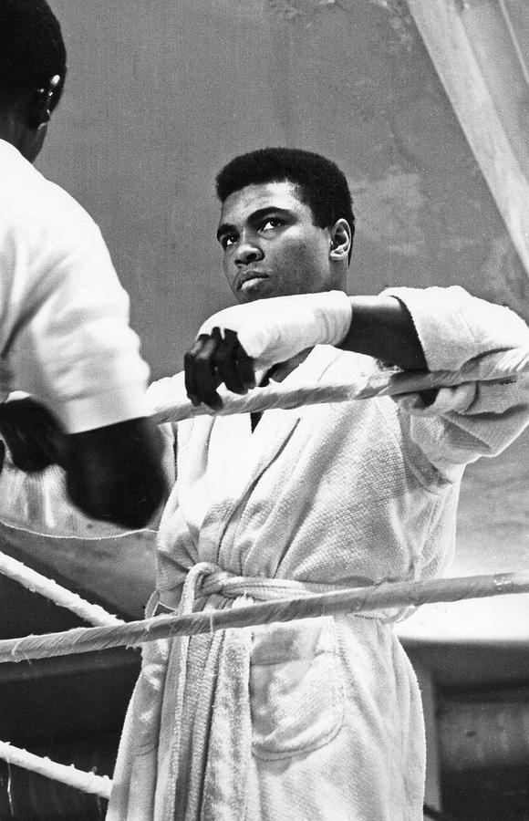 Muhammad Ali In Training Photograph by Fred W. McDarrah