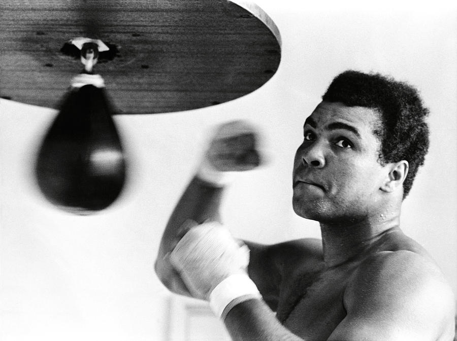 20th Century Photograph - Muhammad Ali, The Greatest by Omikron
