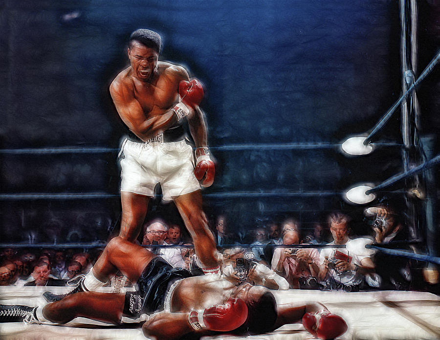 784e507b Boxing Photograph - Muhammad Ali Vs Sonny Liston by Doc Braham