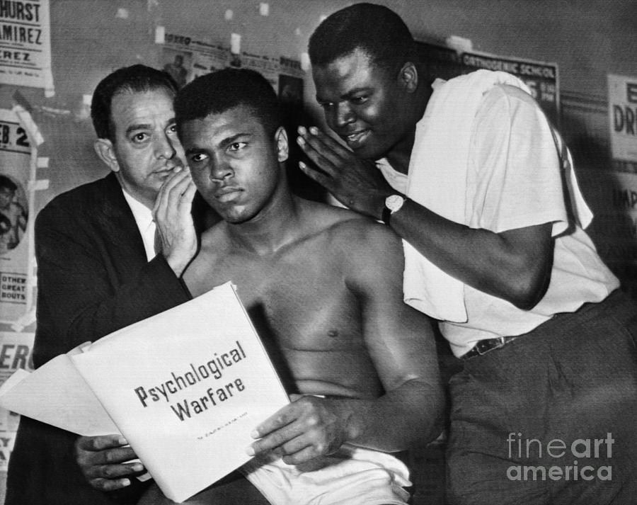 Muhammad Ali With His Trainers Photograph by Bettmann
