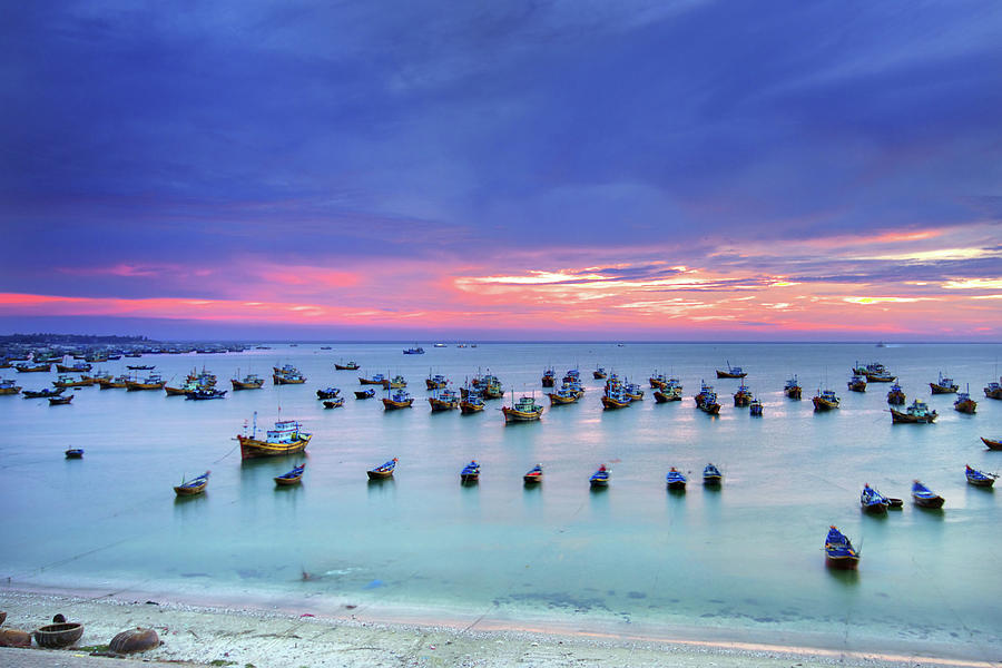 Mui Ne Is Coastal Resort Town Photograph by Simonlong