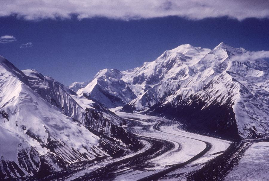 Muldrow Glacier Photograph by Hulton Archive