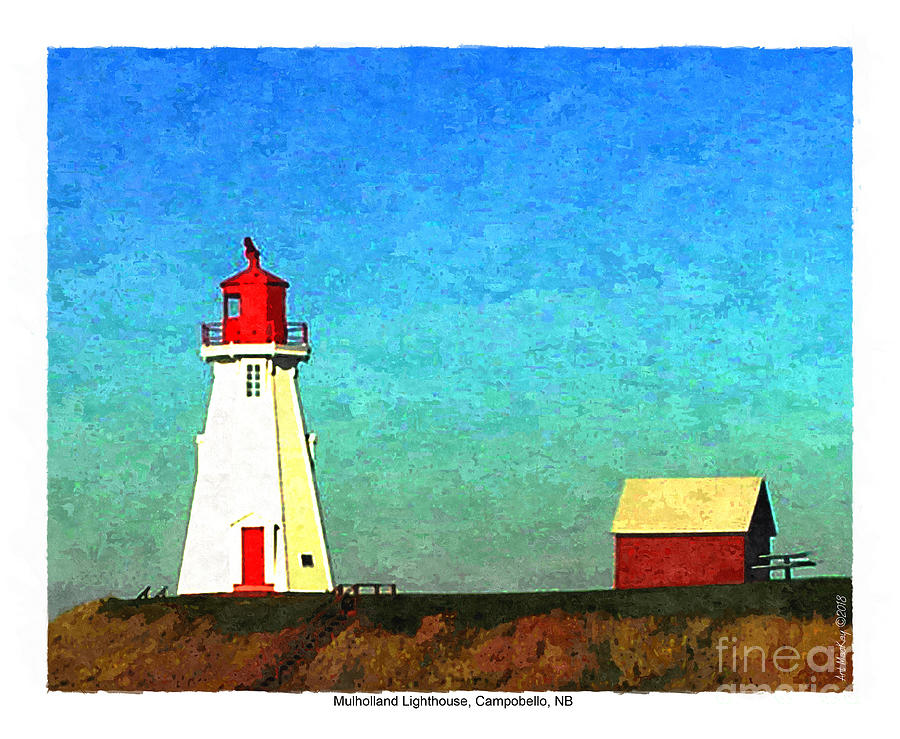Mulholland Lighthouse, Campobello by Art MacKay