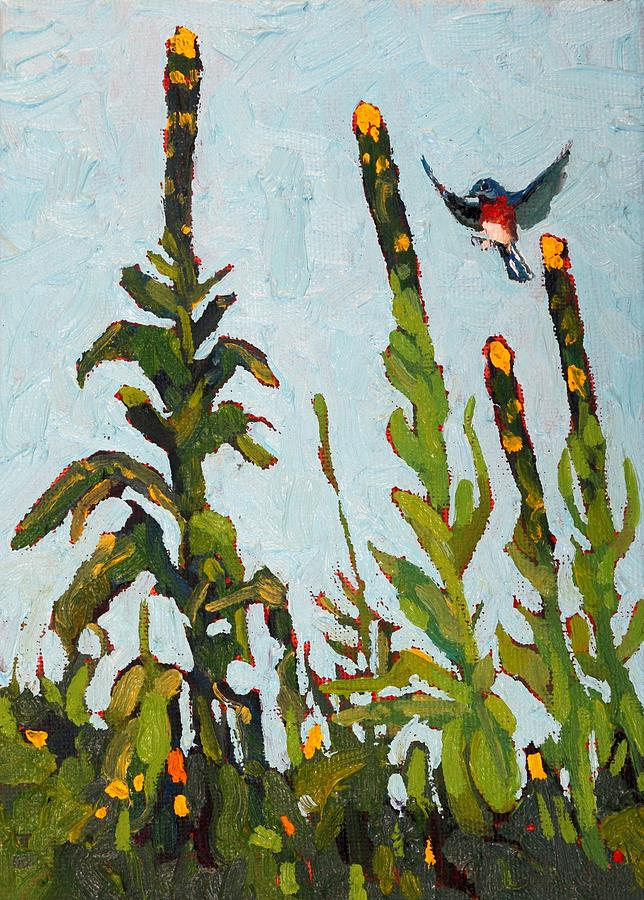 Mullein Perches by Phil Chadwick
