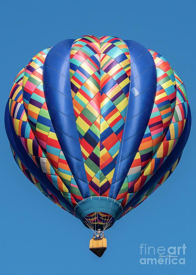 Multi Color Balloon by Steven Natanson