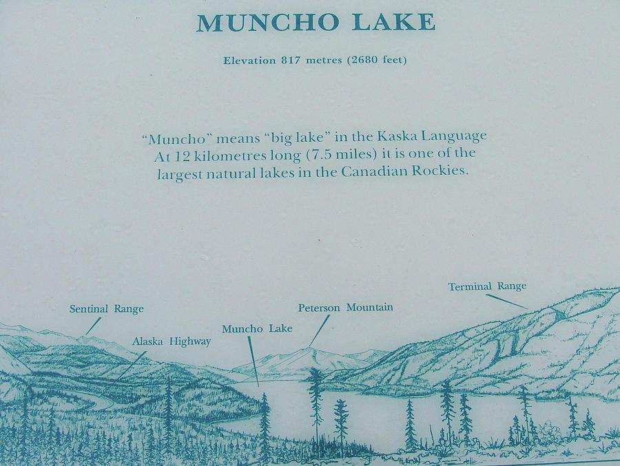 Muncho Lake British Columbia Canada by Robert Braley