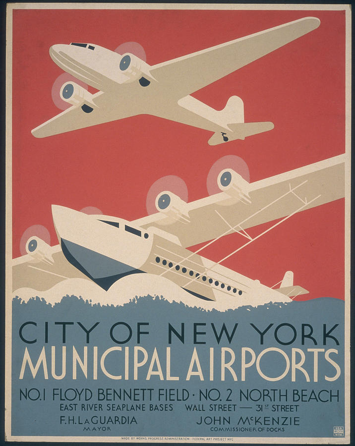 Municipal Airports Poster Photograph by Fotosearch