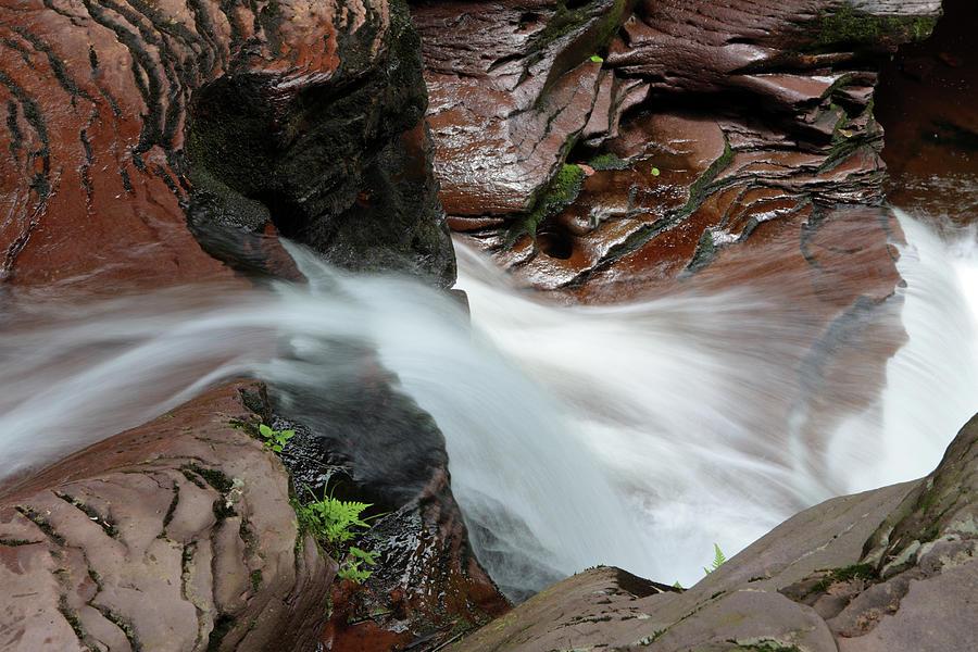 Murray Reynolds Falls At Ricketts Glen Photograph by Tongshan