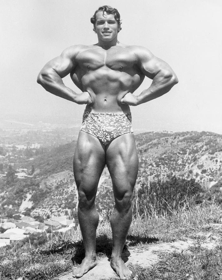 Muscle Man Photograph by Hulton Archive