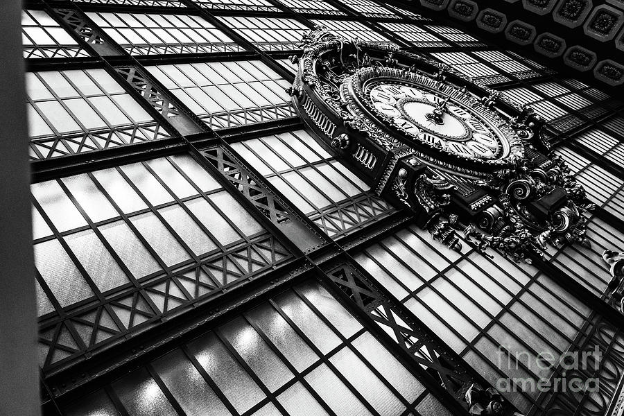 Musee D'Orsay Clock by Miles Whittingham