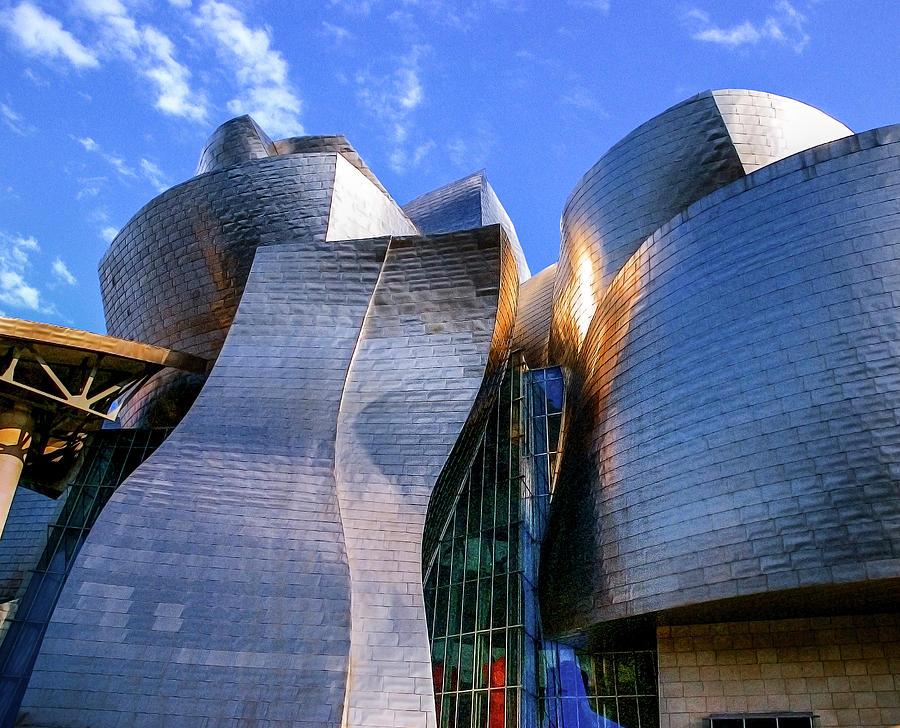 Guggenheim Museo.Museo Guggenheim Bilbao Photograph By 0049 1215 16 2610334597