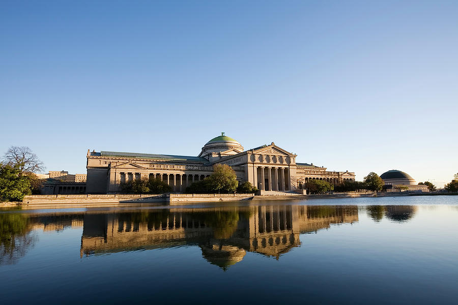 Museum Of Science And Industry, Chicago Photograph by Stevegeer