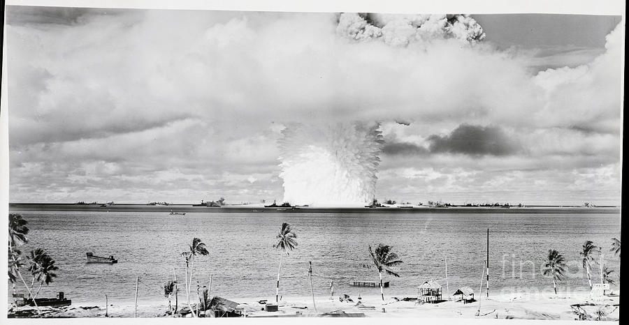 Mushroom Cloud From Atomic Bomb Photograph by Bettmann