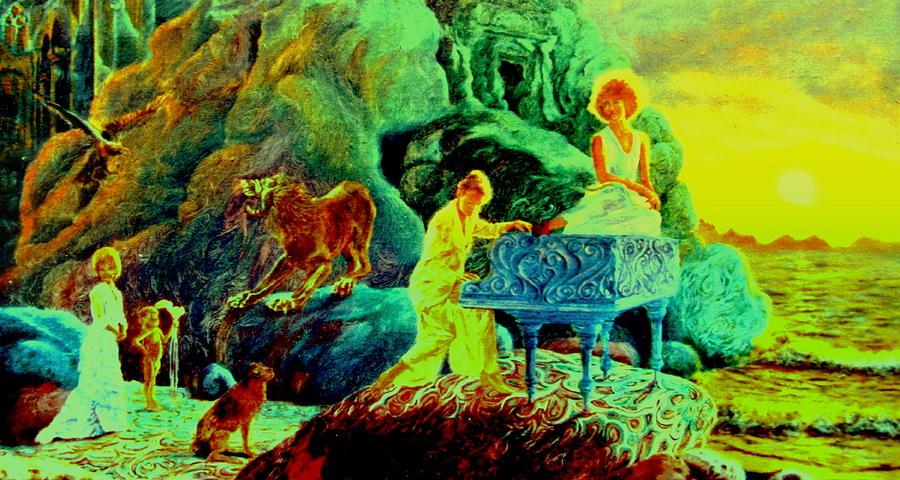 Music about Sunrise by Henryk Gorecki