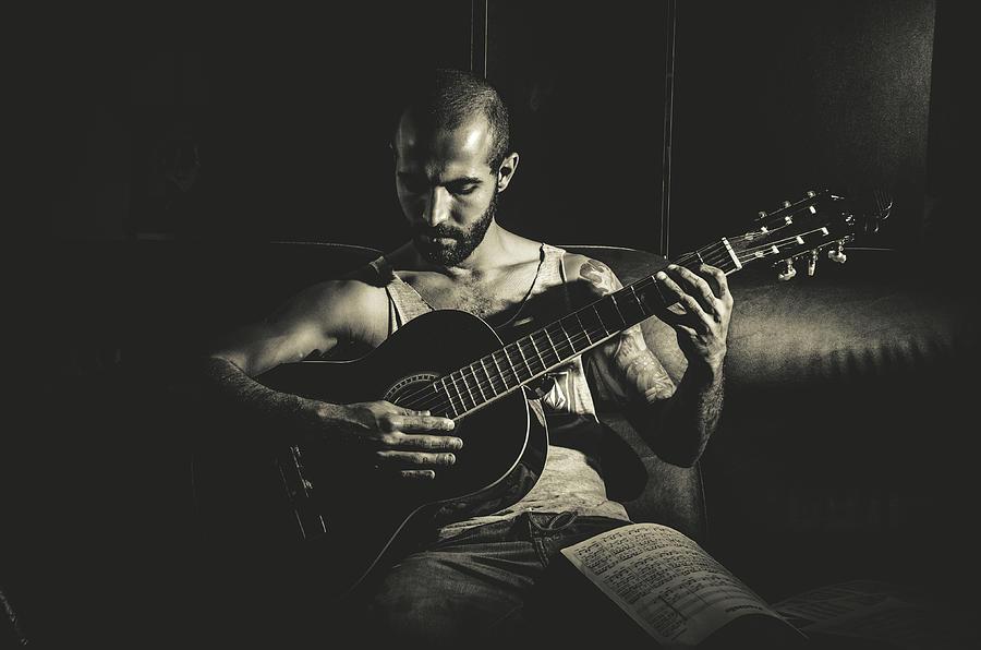 Portrait Photograph - Music by Diego Rodarte