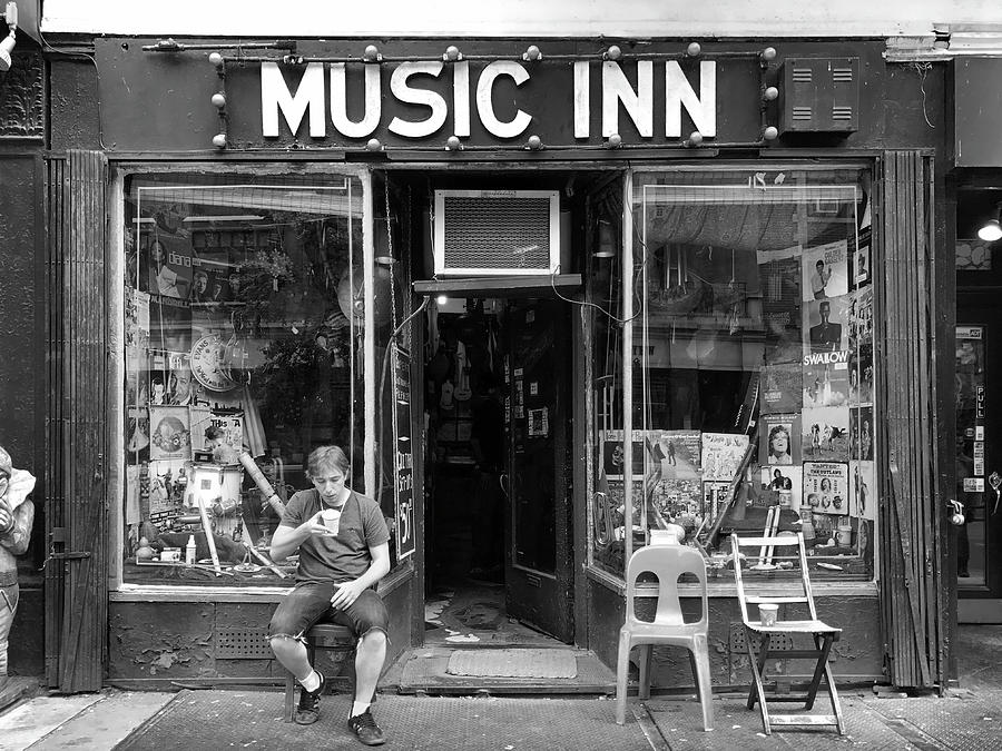Music Inn by Michael Gerbino