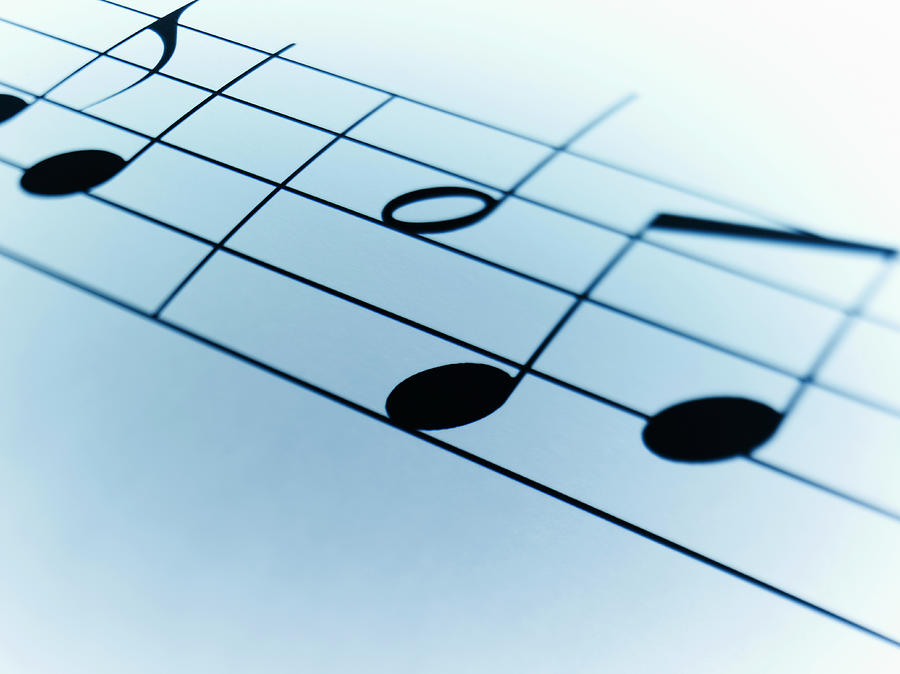 Music Notes Photograph by Adam Gault