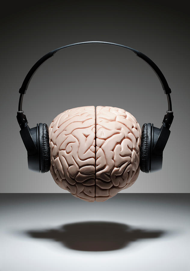 Music On The Brain Photograph by David Crockett
