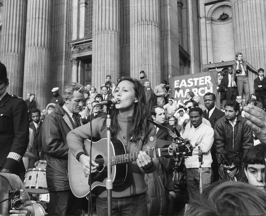Musical Protest Photograph by Jim Gray