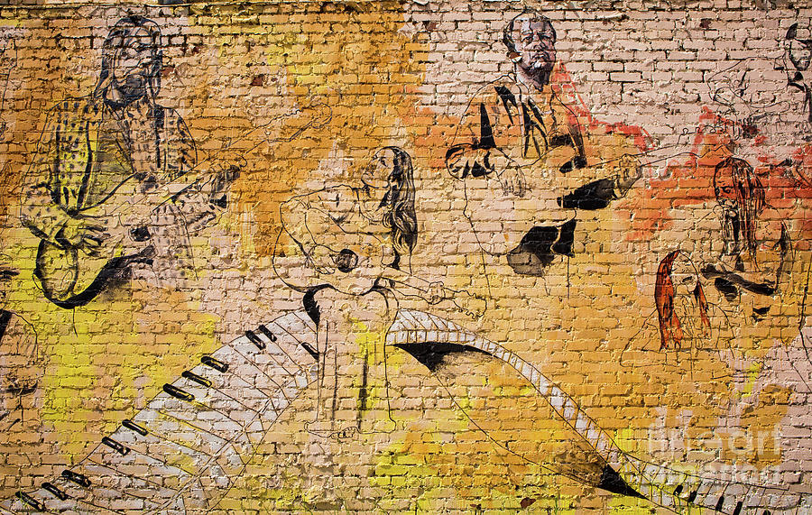 Musical Wall Mural by Kevin McCarthy
