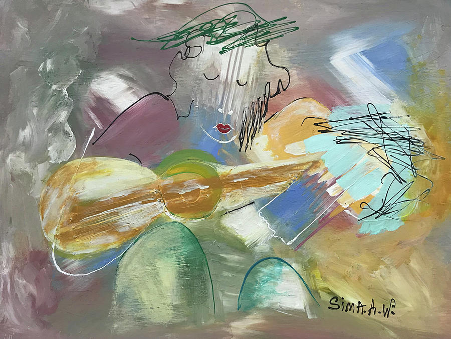 Musician #500 H by Sima Amid Wewetzer