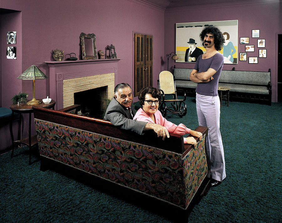 Musician Frank Zappa R W. Parents L-r Photograph by John Olson