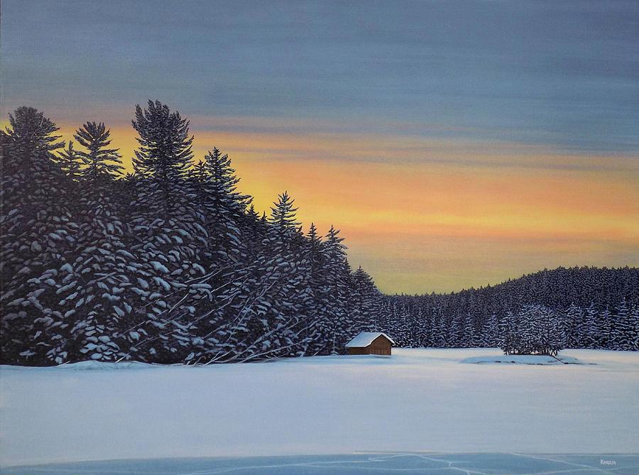 Muskoka Winter by Kenneth M Kirsch