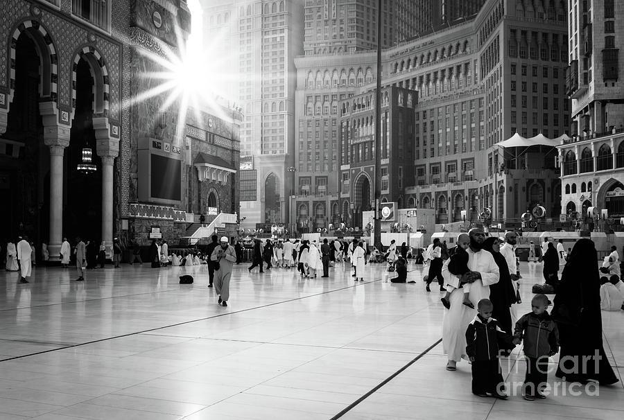 Muslim Pilgrims After Subuh Prayer Photograph by Shaifulzamri