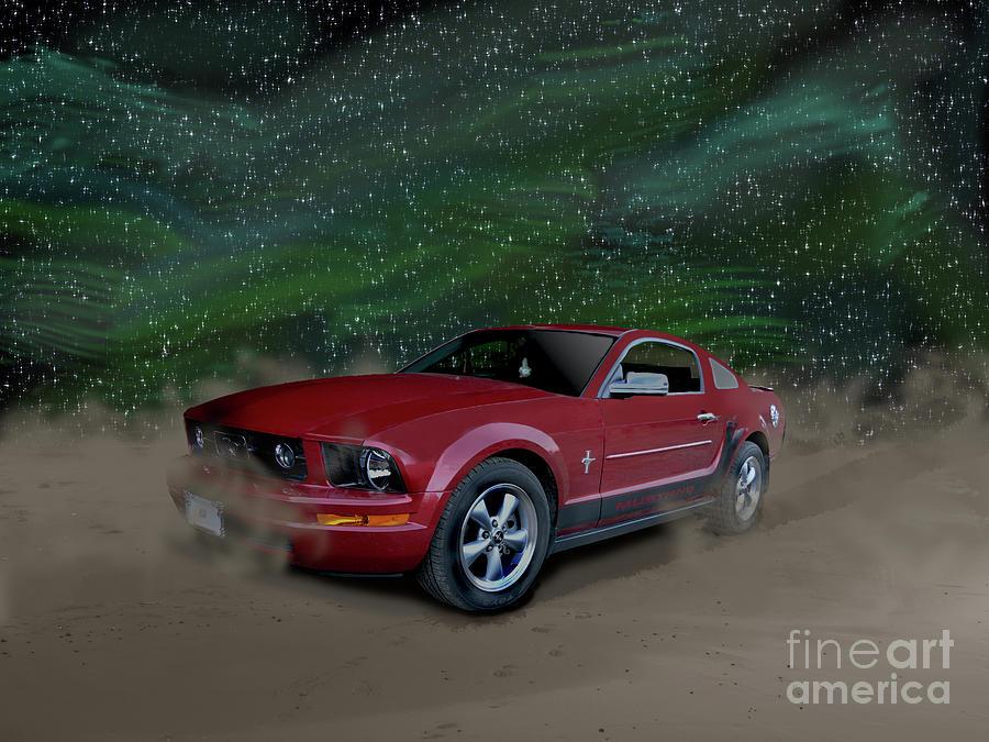 Mustang Alley by Vivian Martin