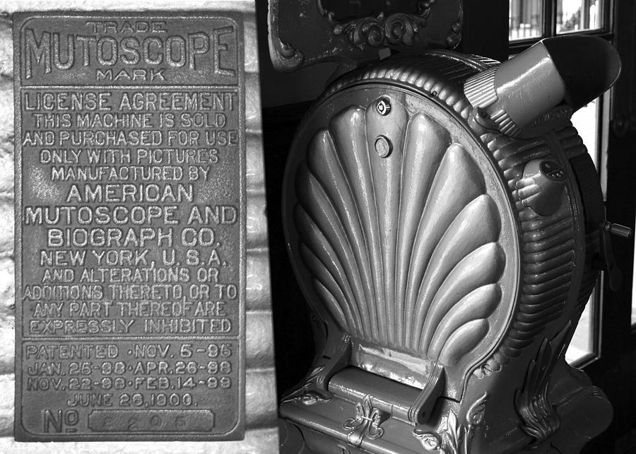 Mutoscope Photograph - Mutoscope Fine Art Dual Image by David Lee Thompson