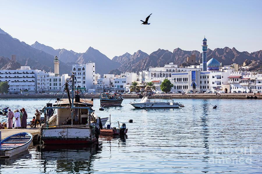 Muttrah Fish docks - Muscat, Oman by Ulysse Pixel