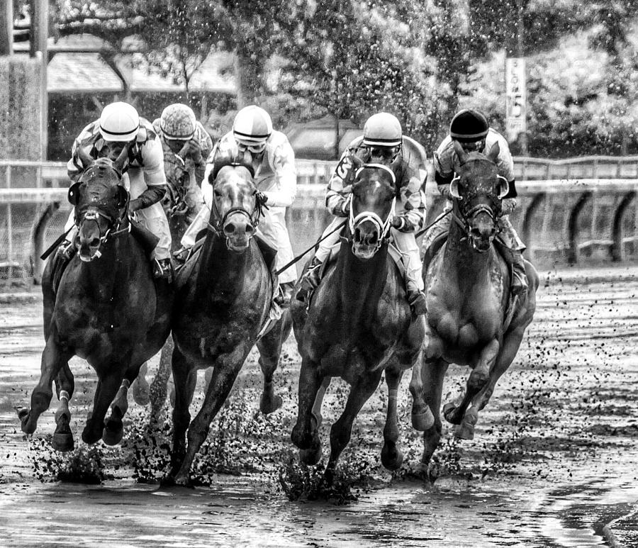 MUDDERS IN SARATOGA by Jeffrey PERKINS