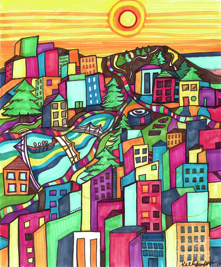 My Colorful Community by Kelly Simpson