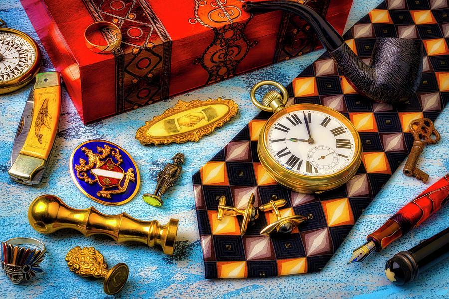 My Elegant Father's Items by Garry Gay