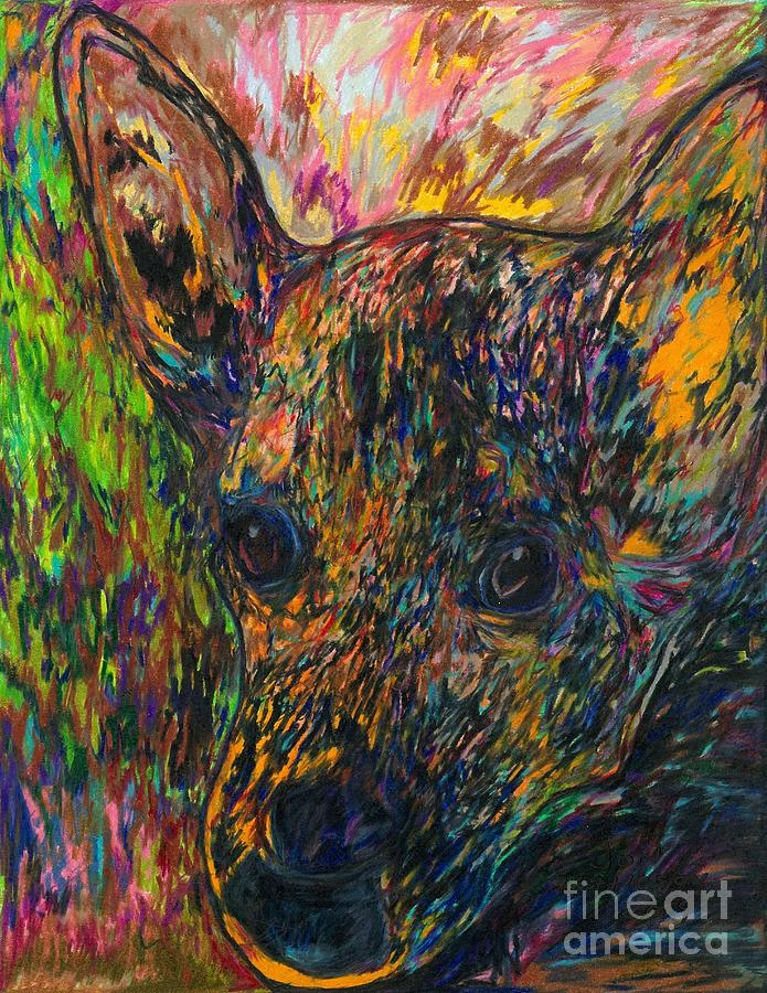 My late dog Rosco by Jon Kittleson