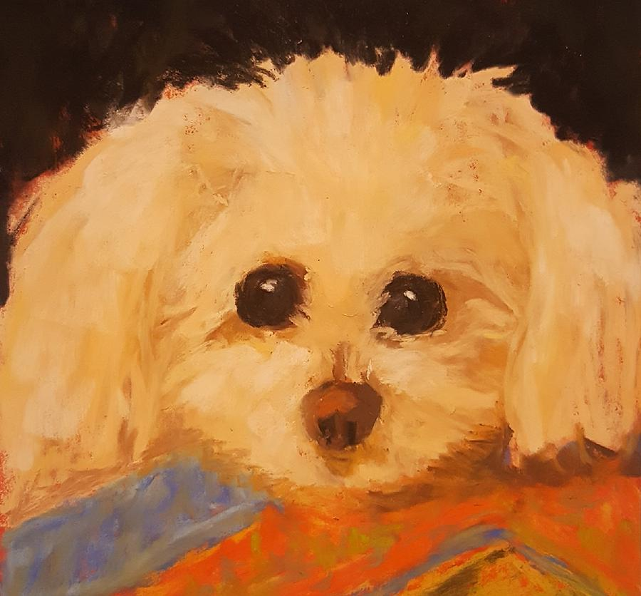 Portrait Pastel - My Princess by Ellen Kirwan