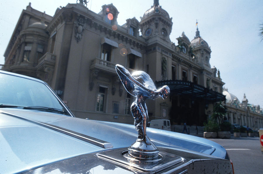 My Rolls Royce In Monte Carlo Photograph